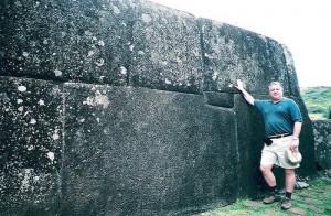 Here is Easter Island. Same Kind Of Strucure