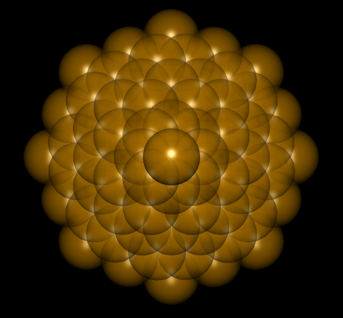 Flower Of Life Krystal (Spheres