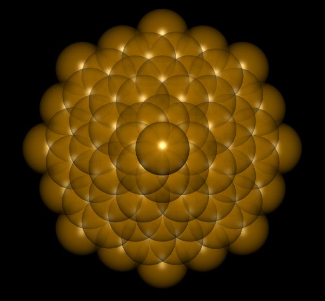 Flower Of Life Krystal (Spheres