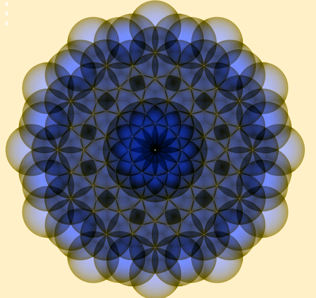 Flower Of life Twelvefold Geometry (Spheres)