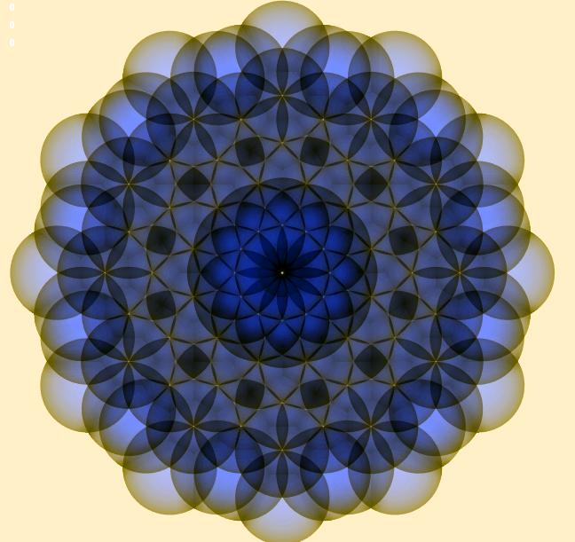 Flower Of life Twelvefold Geometry (Spheres)