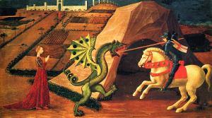 uccellos-michael-killing-the-dragon